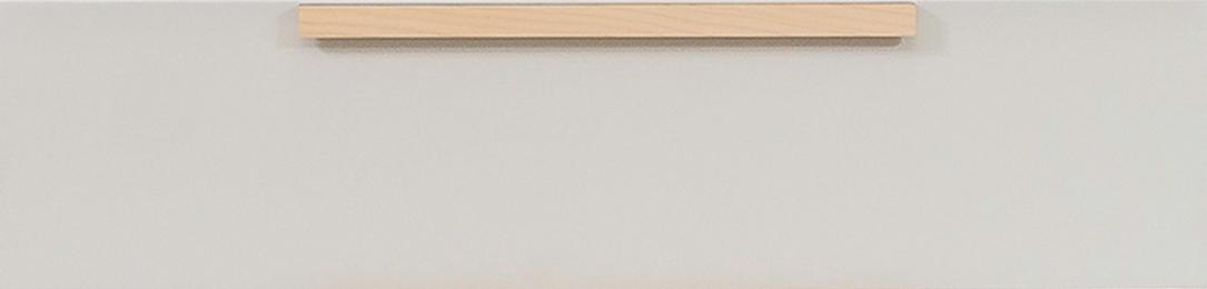 Front lakierowany z drewnianym uchwytem