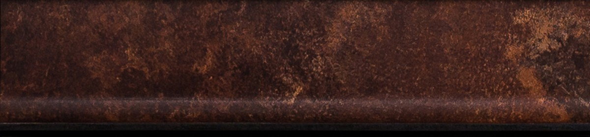 Front rdzawy z wygiętymi rogami_ wygięty uchwyt
