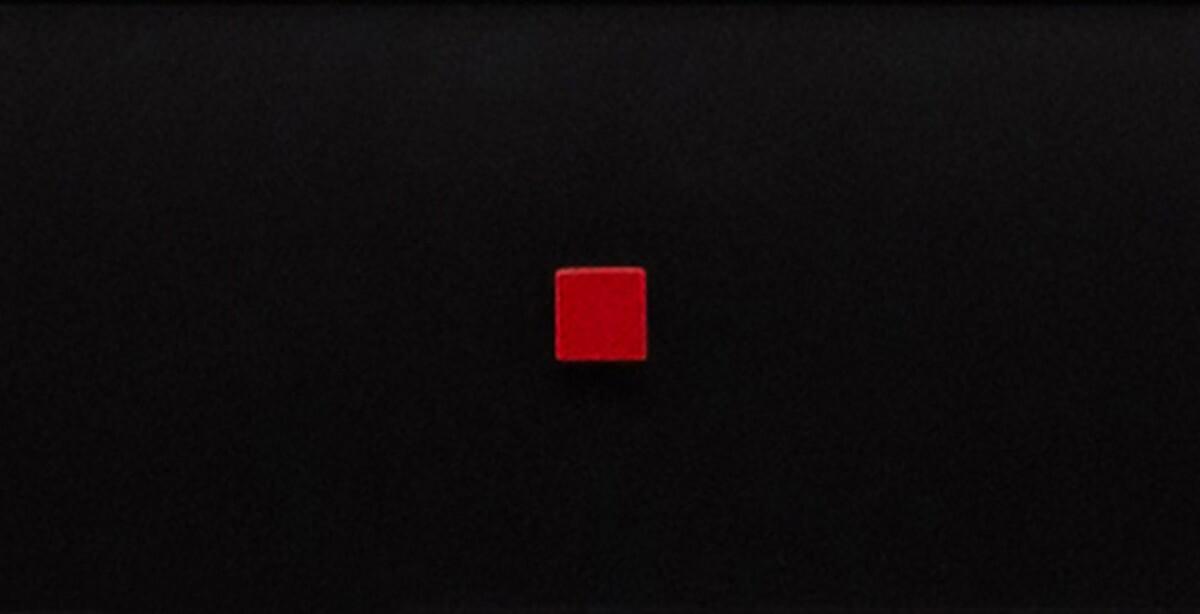 Front czarny mdf czerwone wybrania